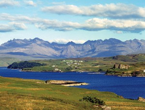 There's breathtaking scenery everywhere you look on Skye.